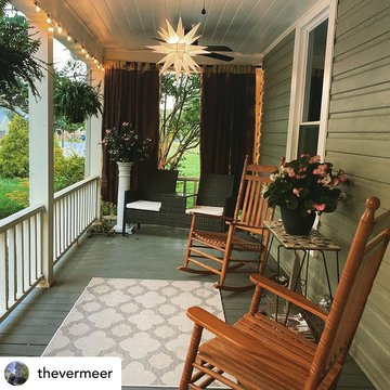 Posted @withregram • @thevermeer Let's talk porches! They call your name, begging you to slow down and savor the moment. Solitude or friends, morning coffee or afternoon wine, get your porch ❤️❤️ on at The Vermeer Bed and Breakfast.  #porchlife #porchlove