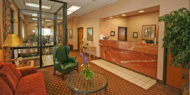 Inside of Quality Inn Mount Airy