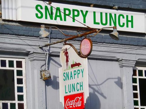 Snappy Lunch, Downtown Mount Airy